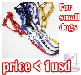 Wholesale Rope Dog Lead - Dog Traction Rope Dog lead Pet Accessories Pet Harness Leash Pet Collar Optional Colors 20pcs