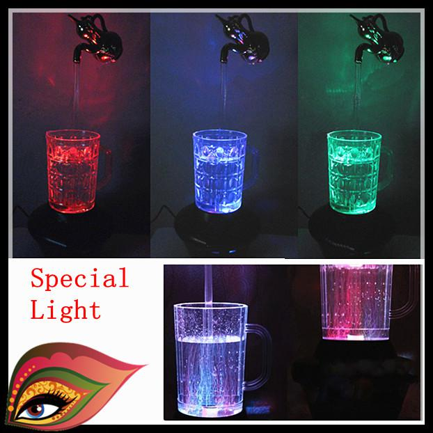 LED Water Lamp Decoration Light Magic Cup Lamp Magic Kettle Night ...