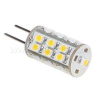 Wholesale Bi Pin 24v - Free Shipment ! Dimmable G4 Led Light 25led 3528 SMD 12VDC 12VAC 24VAC Bi-pins White Warm White Camper Car Ship Bulb Lamp 10pcs lot