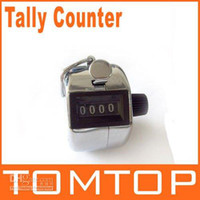 Wholesale Desk Tally Counter - Digits Stainless Desk & Hand Held Tally Counter, 10pcs lot, Free shipping, Wholesale TMJS01