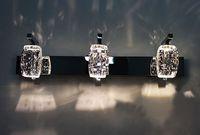 Modern Fashion K9 Crystal High Power LED Wall Lamp Bathroom ...