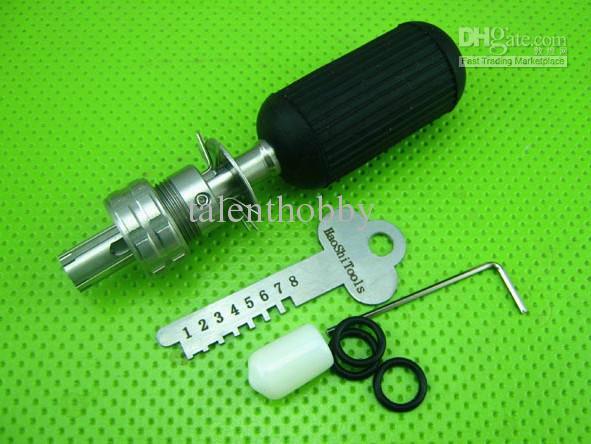 Manipolazione tubolare regolabile Attrezzi a 10 pin - Utensili a serraggio a leva serrature TPXA-10 apriporta