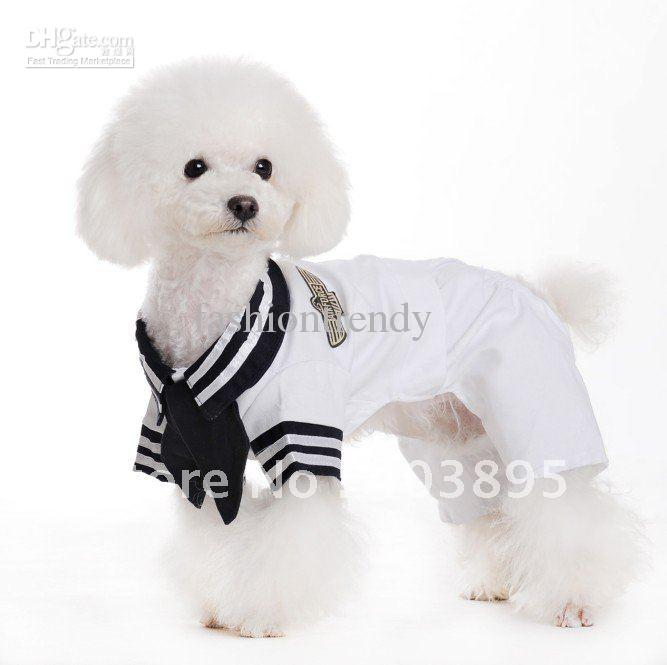 2018 New Fashion White Pet Dog Sailor Suit Cute Apparel/Costume/Uniform ClothesIn Stock From Fashiontrendy $71.03 | Dhgate.Com  sc 1 st  DHgate.com & 2018 New Fashion White Pet Dog Sailor Suit Cute Apparel/Costume ...