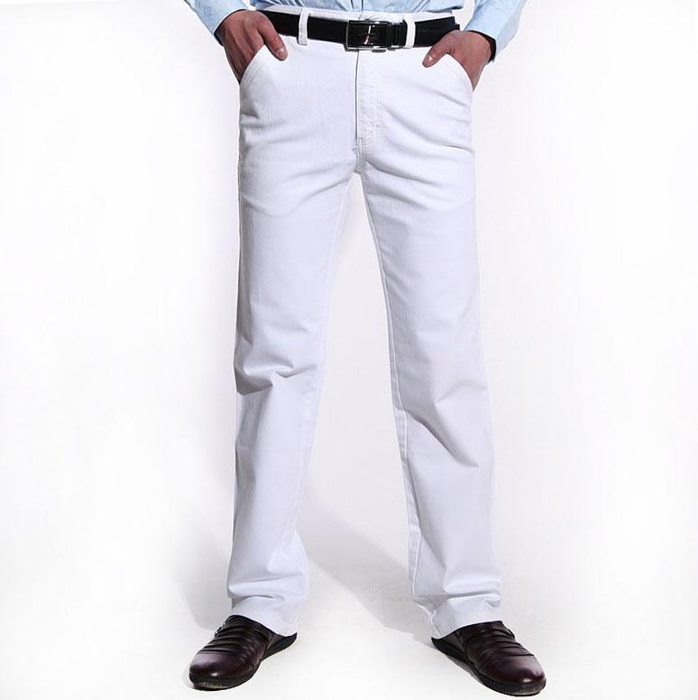 Online Cheap White Jeans Men Fashion Jeans 2014 Spring And Summer ...