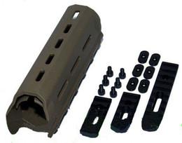 Wholesale Handguard Float - rifle float picatinny 7 inch handguard with iron rails sand