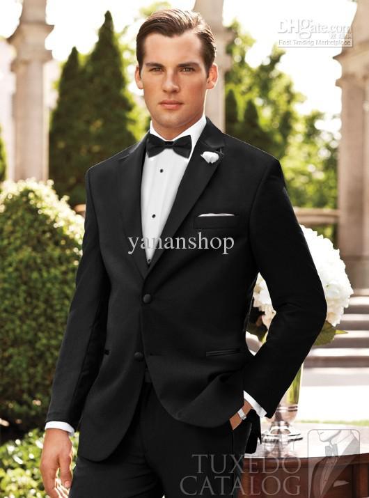 Groom Tuxedos Best Man Suit Wedding Men Suits Item Code:90017 Prom ...