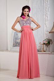 Black Prom Dresses Sale Canada - Hot Sale Empire Spaghetti Formal V-Neck Evening Dresses Backless Party Prom Dress