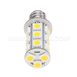 Free Shipment!! 18led Of 5050SMD E12 LED Auto Bulb 12V 24V 360LM White Color 3W Corn Bulb Indoor 10pcs lot