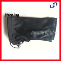 Wholesale Eyewear Bag - Free Shipping Wholesale 40pcs Black Spectacle Sunglass Eyewear Eyeglasses Glass Cloth Bag Pouch