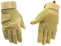 Wholesale Cs Gloves - sand Motorcycle cycling CS Army fans outdoor fitness climbing Blackhawk Tactical full finger gloves