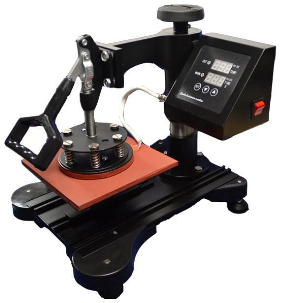 Barato 4 em 1 Novo Design Combo Imprensa Calor / Máquina de Transferência Para T Shirt / Caneca / copo / Placa / Cap / Telefone Celular / Impressora Do Caso Do Iphone Por FEDEX / DHL