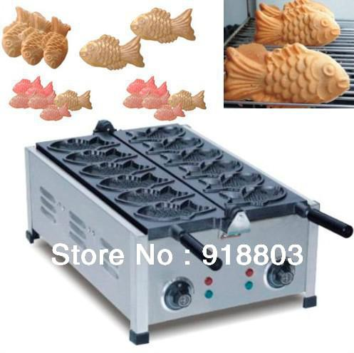 220v Electric Japanese Taiyaki Maker Machine Taiyaki Maker Taiyaki ...