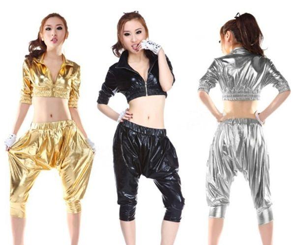 top popular 90 hip-hop DS costumes hip-hop retro dance clothes HIP-HOP Harlan wind bar costumes 2019