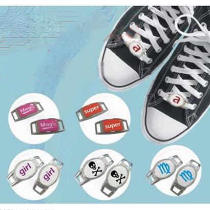 Blank Oval Shoelace charms shoe thingz & Paracord Charms with Epoxy Sticke+Wholesale and retail