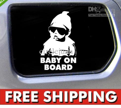 2013 new baby on board carlos hangover funny car vinyl sticker decal decal on car funny car stickers car emblems online with 73 23 piece on circlejuans