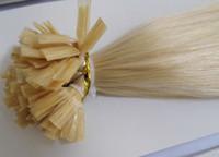 indien remy kératine plat achat en gros de-EN VENTE Stock MIRACLE 100g 20inch 1g / s kératine Pointe plate REMY Cheveux Pré collé Extensions de Cheveux INDIEN Livraison sous 3 à 5 jours