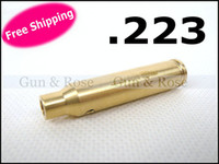 Free shipping wholesale CAL . 223 WIN laser bore sighter bore...