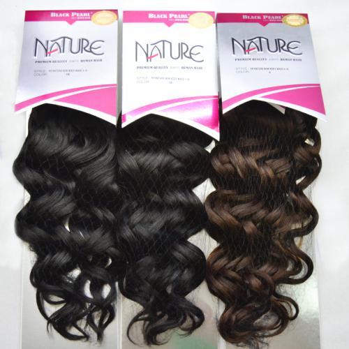 Black Pearl Nature Human Hair