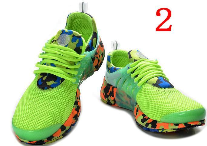 Neon Green Nike Tennis Shoes