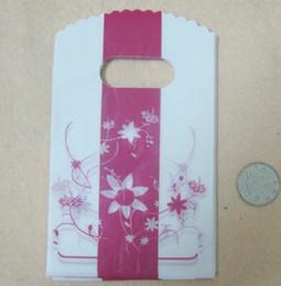 """nouveau belle fleurs 500pcs 9 * 15cm (3.54 """"x5.91"""") sac à bijoux en plastique cadeau sac à main sac bravelet pochette ? partir de fabricateur"""