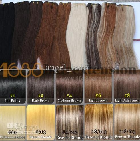 Aaaa mix color 100 real human hair extensions skin weft hair see larger image pmusecretfo Images