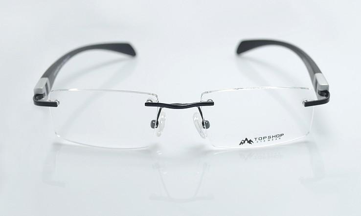optical eyeglasses womens rimless frame eyewear brand glasses frames - Name Brand Eyeglass Frames