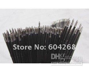 Unique Syringe Pens Refills Ball point refill Black color 100pcs/lot Free Shipping