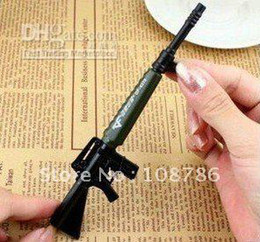 Wholesale Novelty Gun Pens - 100pcs lot free shipping New Arrival Novelty Gun Pen  Gift Promotion pen cartoon Cross Fir