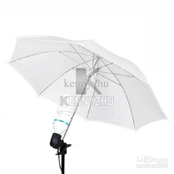 "New 33"" Inch 83cm Translucent White Soft Diffuser Umbrella For Camera Photography"