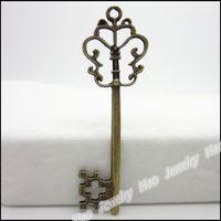 Wholesale keys jewelry for sale - Group buy Vintage Charms Key x18mm Pendant Antique bronze Fit Bracelets Necklace DIY Jewelry