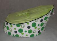 Wholesale Doomoo Bag - Free shipping green spot baby bean bag doomoo seat