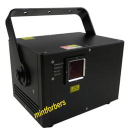 Dj animação de iluminação on-line-A animação da cor completa do RGB da luz do laser 1050mw ILDA DJ ilumina de alta qualidade