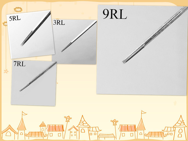 tattoo needle 3RL 5RL 7RL 9RL 50PCS/BOX 4BOXES/PACK