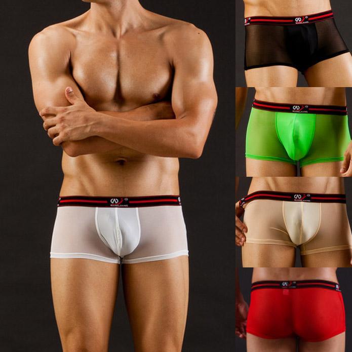 Sexy men in boxer briefs