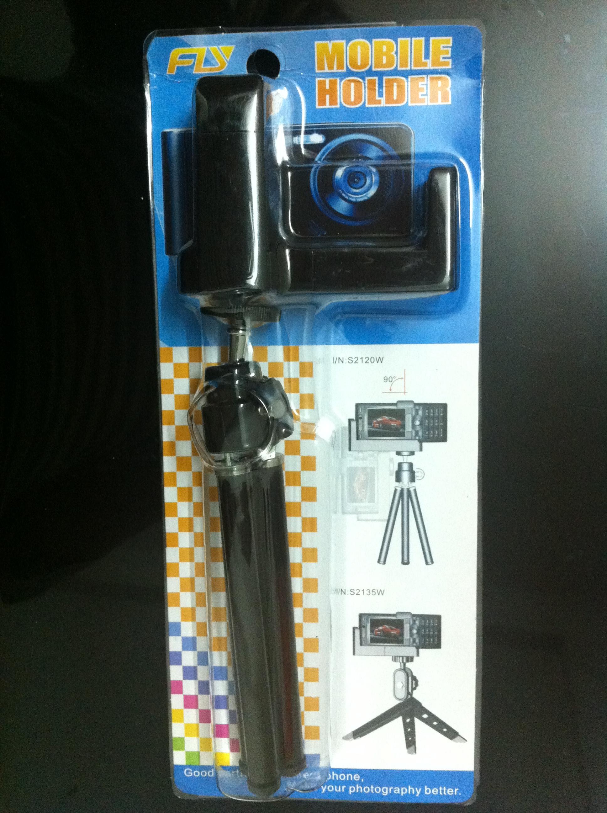 아이폰 4 / 4S 5 5S 6 카메라에 삼각대 홀더와 승진 제한 수량 셀프 타이머