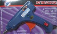 Wholesale Wholesale Glue Guns - Hot Melt Glue Gun Crafts Tool D7mm US TO EU Adapter 20 Watt 100 240V Mini Electric Trigger