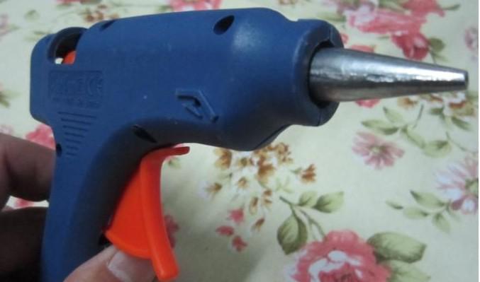 Hot Melt Lijmpistool Crafts Tool D7mm VS naar EU-adapter 20 Watt 100 240V Mini elektrische trigger
