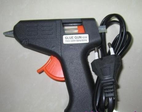 Nova Chegada 20W elétrica Glue Gun Aquecimento pistola de cola quente Artesanato Album Repair D7mm