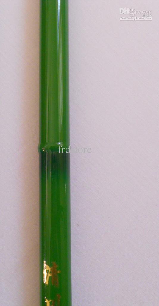 varilla de pesca de bambú del color del bambú del telescopio del carbón del agua dulce los 4.5m 18eet