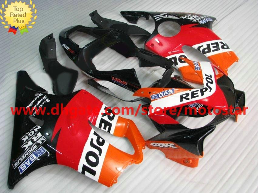REPSOL bodywork for HONDA fairing CBR600F4i 01-03 CBR600 F4i 01 02 03 CBR 600 2001 2002 2003