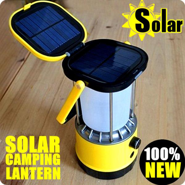 2018 High Quality Solar 2w Hand Camping Lantern Light Lamp/2.2w Solar Panel  Multi Function From Linktone, $44.95 | Dhgate.Com