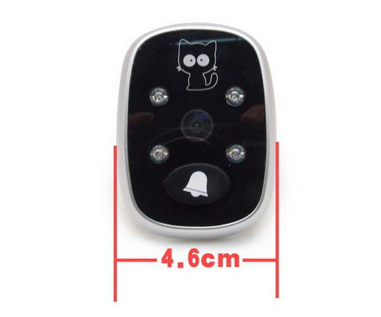"3.5"" LCD HD Color Screen Peephole Door Viewer cam 2013 Wholesale 8 Kinds of Languages Door Eye View"