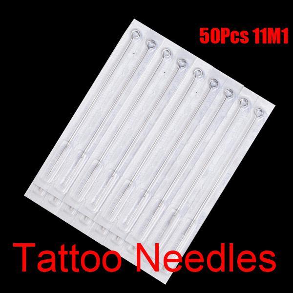 11M1 Aghi tatuaggio sterili monouso 11 Magnum a pila singola kit di inchiostri tazze di inchiostri tatuaggio