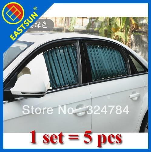 EASTSUN Persianas especiales AUTO Persianas de cortina de coche Sombrilla Luxury Anti-Ultravioleta Car Sunshade curta