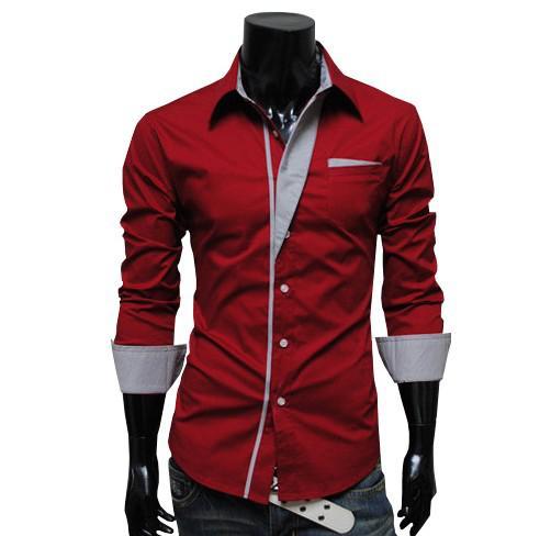 2017 New Mens T Shirt Men'S Long Sleeve T Shirt Slim Fit ,Polo ...