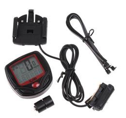Wholesale Digital Lcd Bike Bicycle Computer - Waterproof Digital LCD Bike Cycle Bicycle Computer Odometer Speedometer