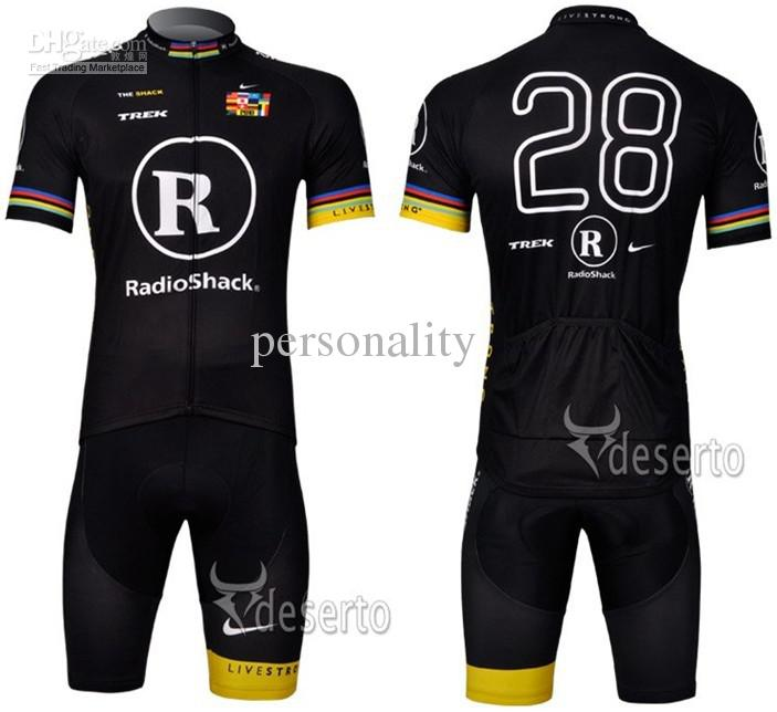 2012 Style Radio Shack cycling jersey Set short-sleeved jersey //Perspiration breathable