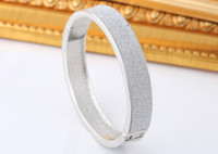 Wholesale Smooth Rings Silver Bracelets - Indian Women Bangle 925 Sterling Silver Smooth Bracelet Fashion Cuff Bangles Jewelry Christmas Gift Brand NEW Promotion Price Free shipping