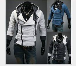 $enCountryForm.capitalKeyWord Canada - Assassin's Creed III 3 Desmond Double Collar Cosplay Costume Hoodie Coat Jacket