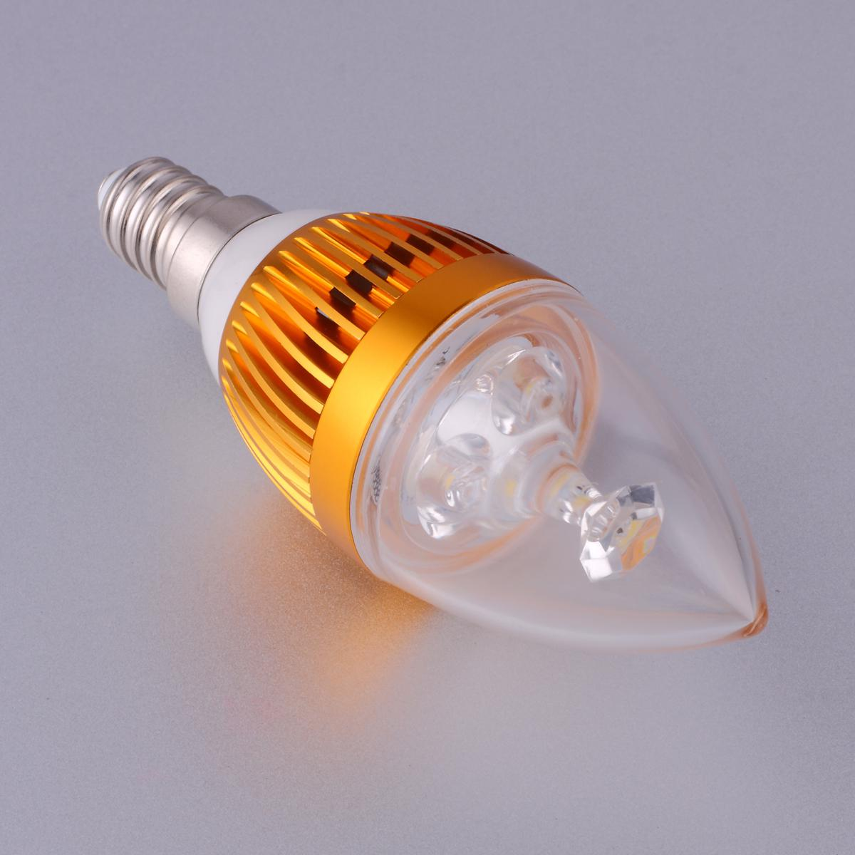 led chandelier light bulbs. LED Bulb Candle Light The Chandelier 3W Energy-saving Lamps Decorative Lights Pointed Led Bulbs U